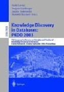 Knowledge Discovery in Databases: Proceedings of the 7th European Conference on Principles and Practice of Knowledge Discovery in Databases